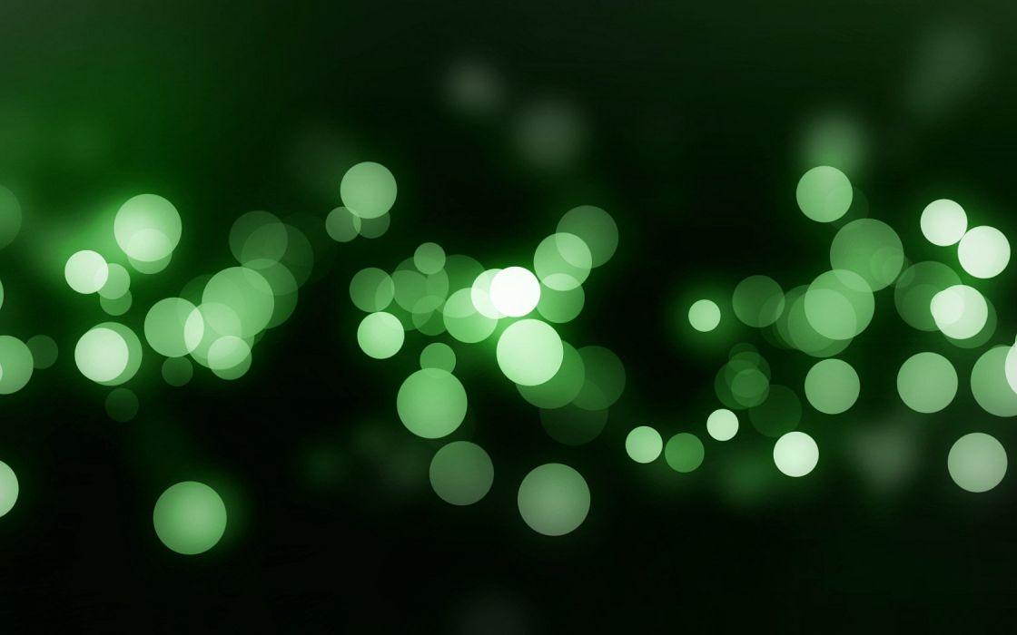 light green abstract minimalistic bokeh dots wallpaper