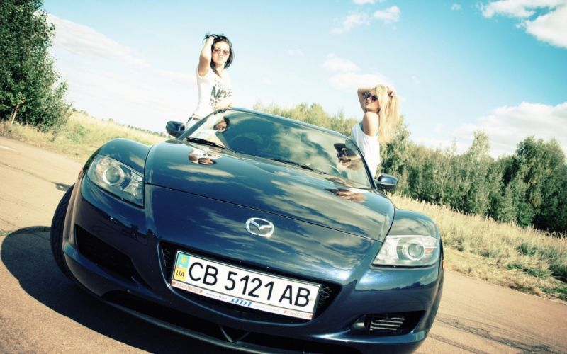 women cars models wallpaper