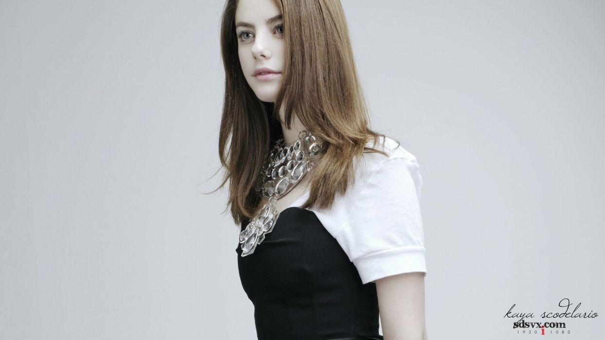 models Kaya Scodelario wallpaper