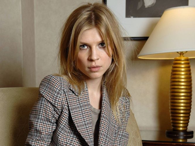 blondes women blue eyes actress Clemence Poesy ClAIA wallpaper