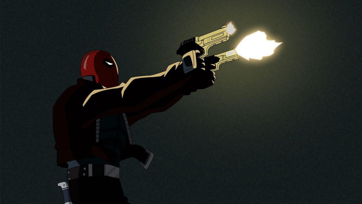 guns Red Hood wallpaper
