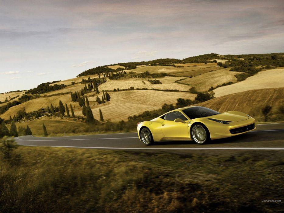 cars Ferrari Ferrari 458 Italia Ferrari 458 wallpaper
