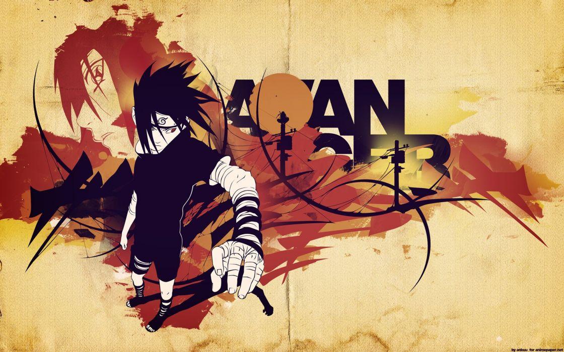 Uchiha Sasuke Naruto: Shippuden Uchiha Itachi wallpaper
