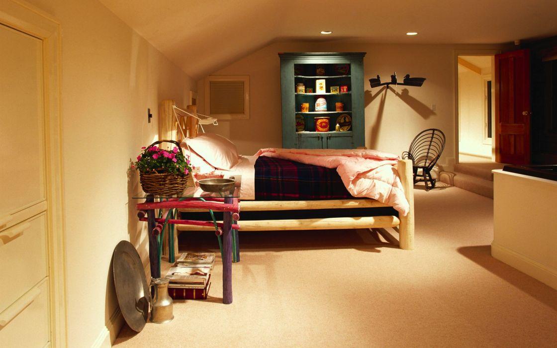 room interior bedroom wallpaper