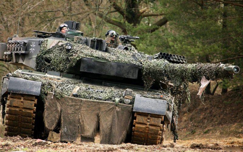 tanks Leopard 2 Main battle tank wallpaper