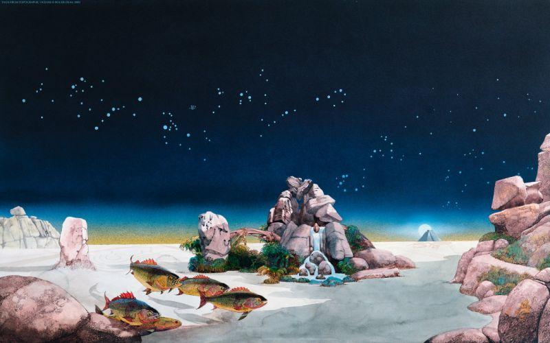 paintings Roger Dean wallpaper