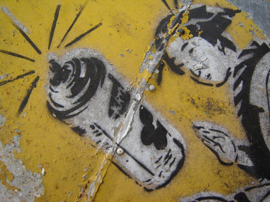 Japan graffiti wallpaper