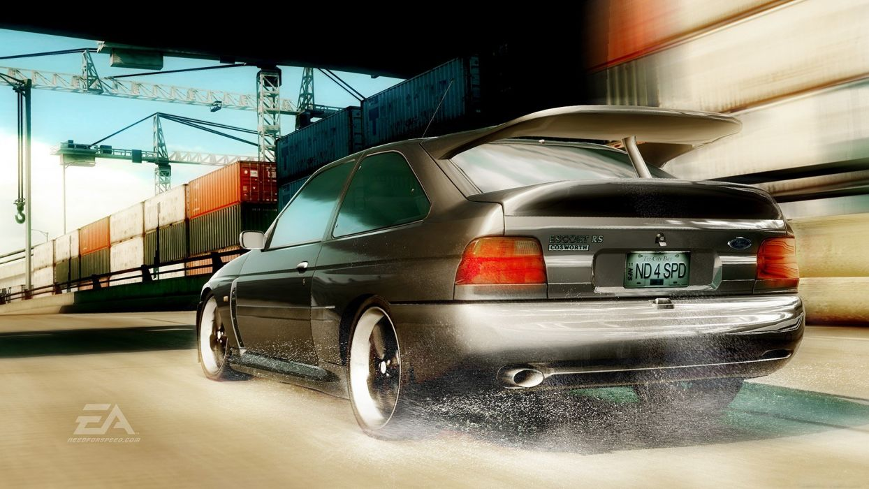 video games cars Need for Speed Need For Speed Undercover Ford Escort games pc games wallpaper