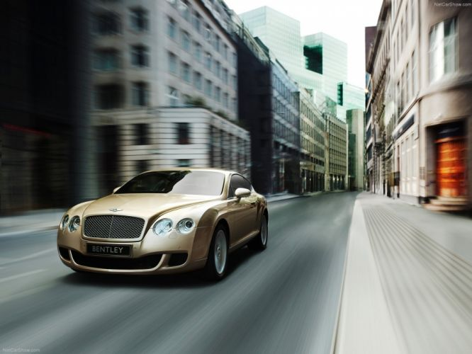 cars Bentley Bentley Continental Bentley Continental GT wallpaper