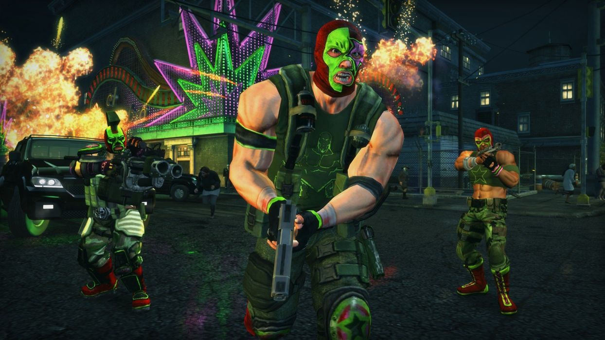 video games Saints Row Saints Row: The Third wallpaper