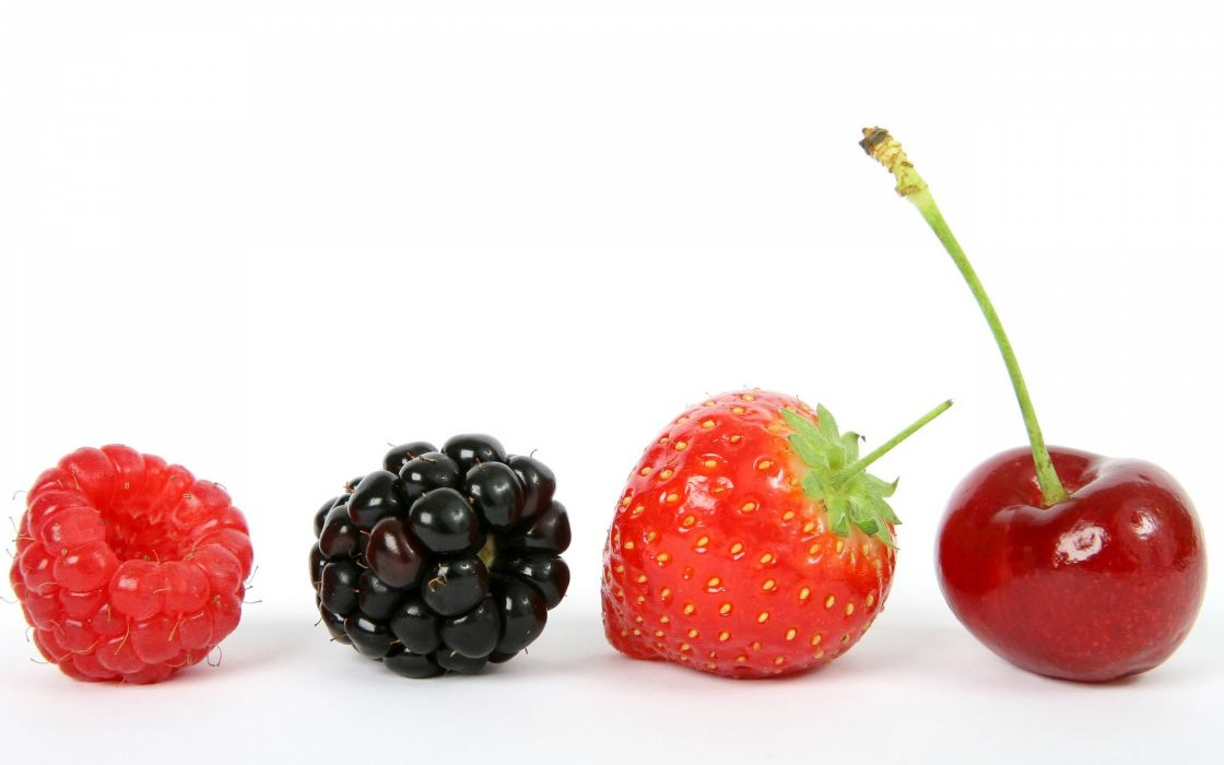 fruits white background wallpaper