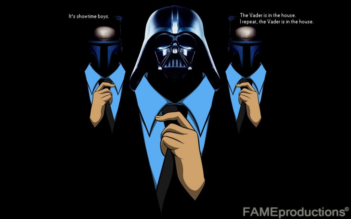 suit Darth Vader Jango Fett house wallpaper