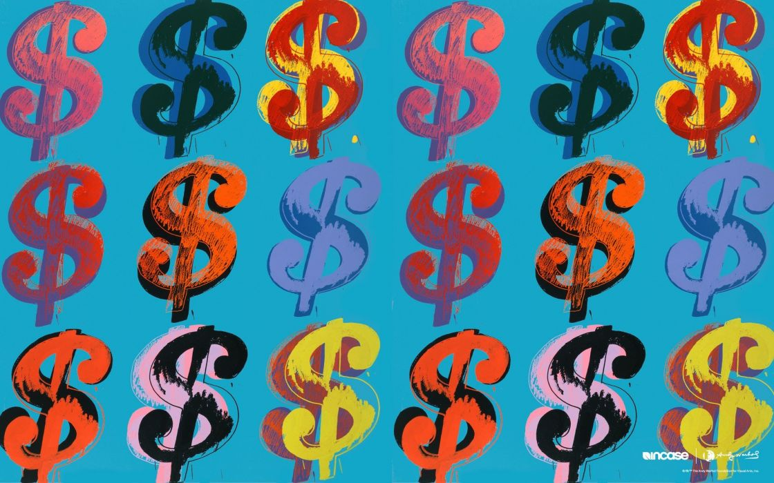 money Andy Warhol Incase wallpaper