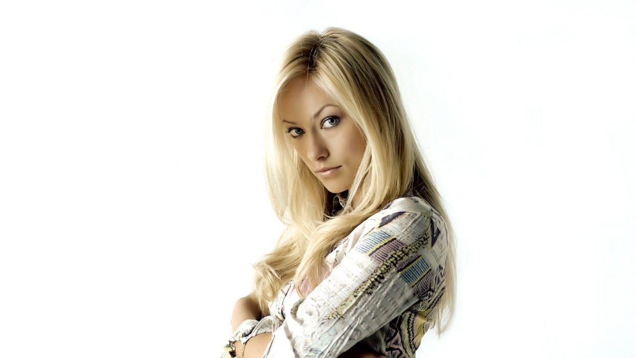 blondes women Olivia Wilde wallpaper