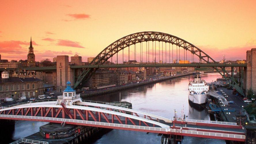 United Kingdom Newcastle Tyne wallpaper