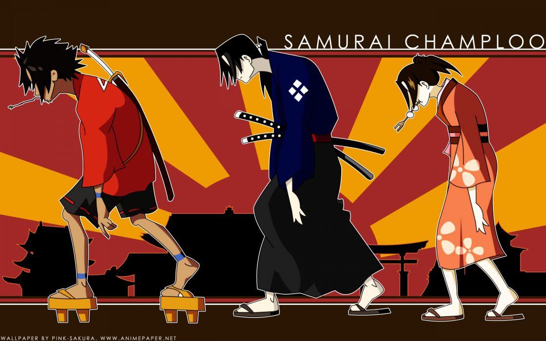Samurai Champloo Jin Mugen Fuu Kasumi wallpaper