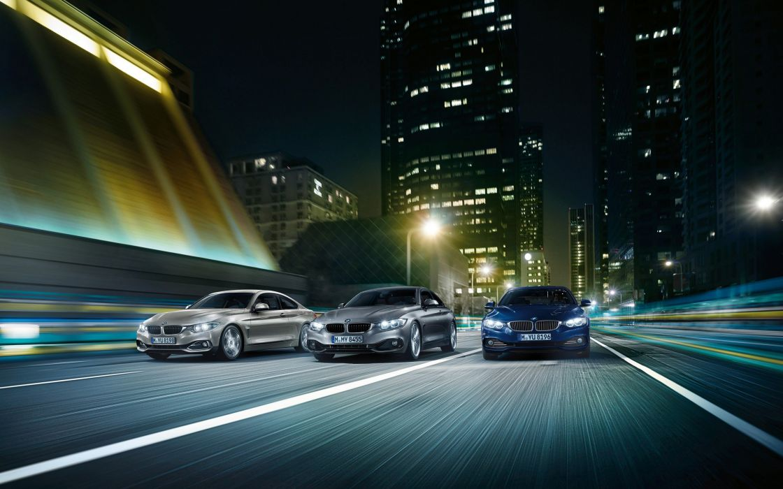 cars trio BMW 4 Series Coupe wallpaper
