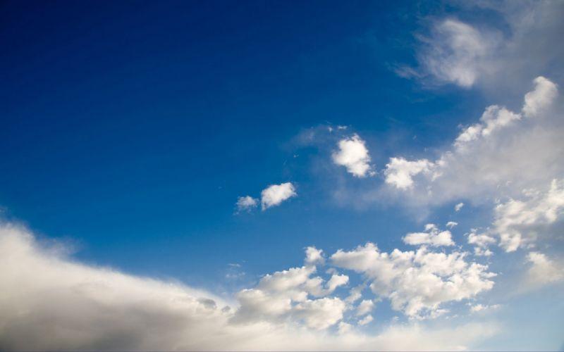 clouds skies wallpaper