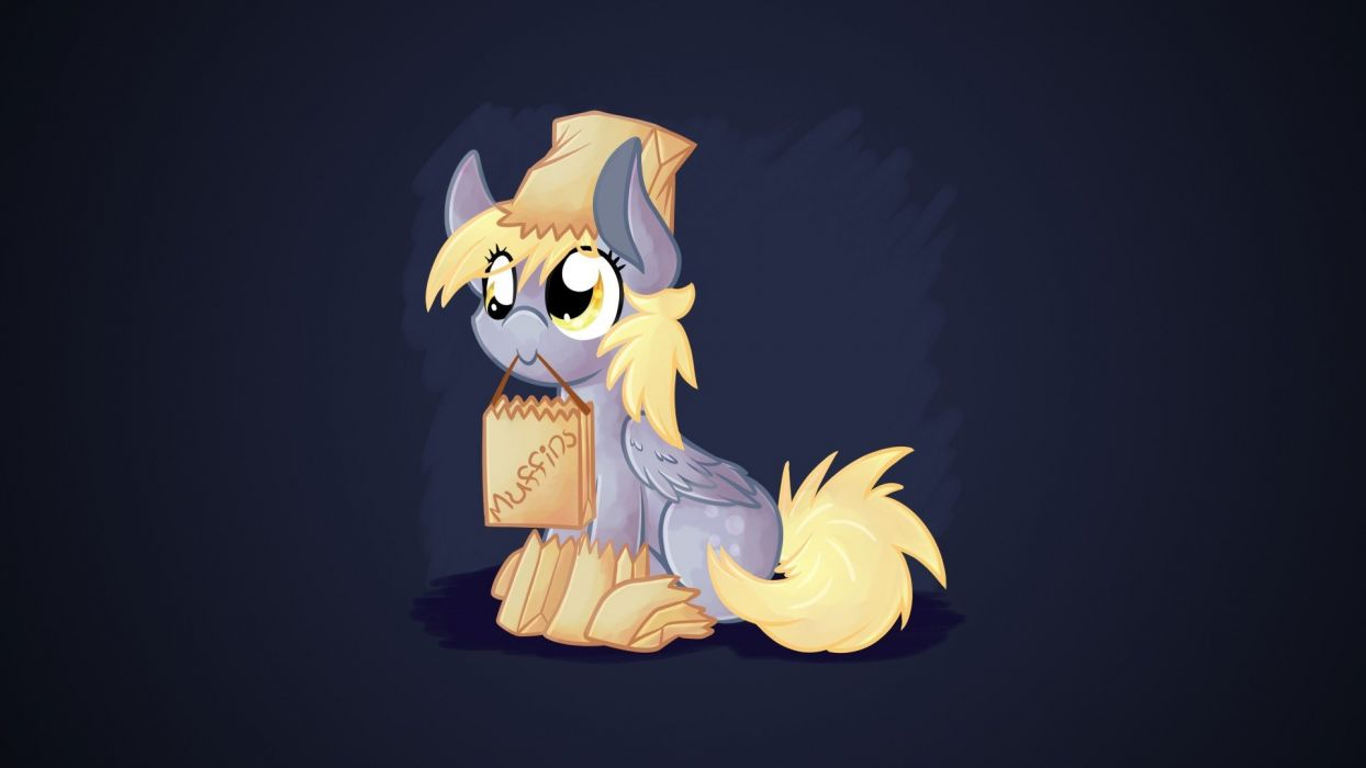 Ponies Derpy Hooves My Little Pony Friendship Is Magic Wallpaper