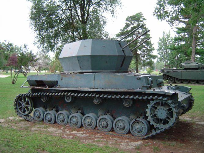 military tanks Flakpanzer IV wallpaper