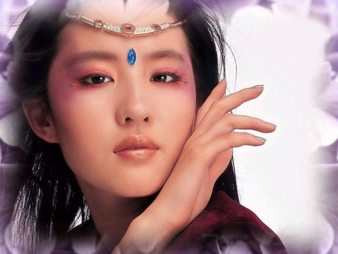 women cosplay China Asians liu yi fei wallpaper