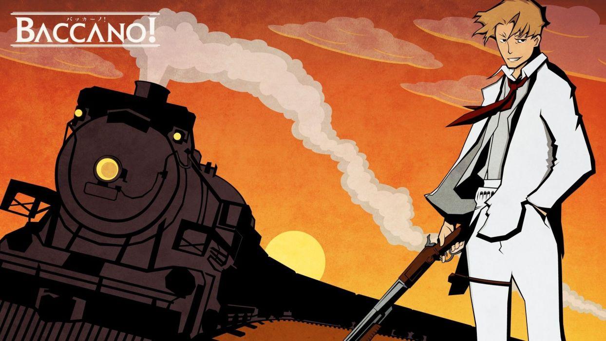 Baccano! anime anime boys wallpaper