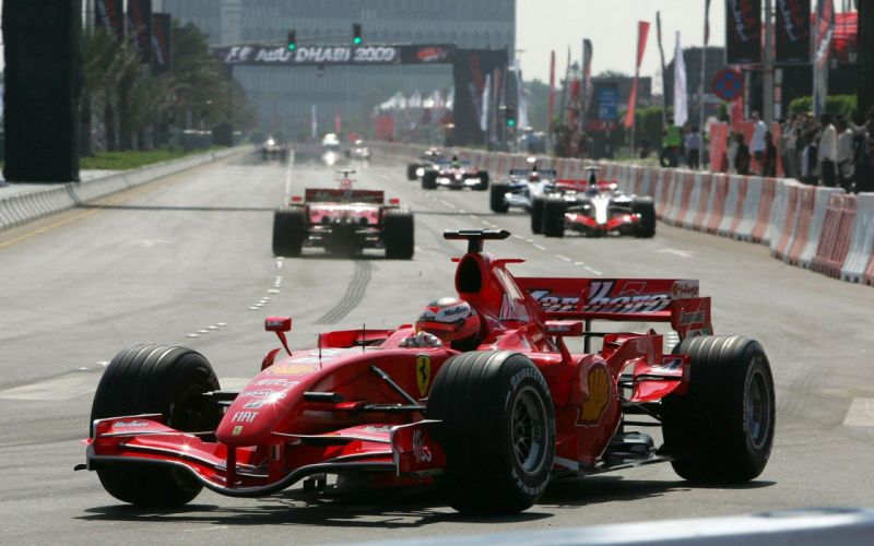 cars Ferrari Formula One supercars Kimi Raikonnen race tracks wallpaper