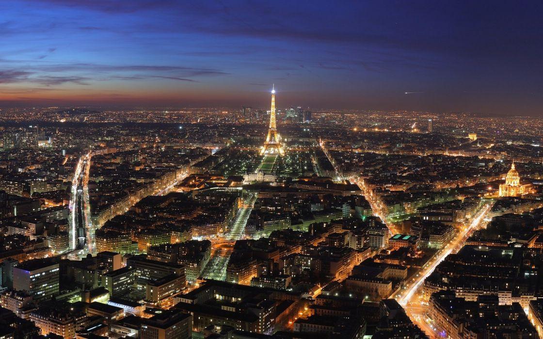 Eiffel Tower Paris cityscapes buildings wallpaper