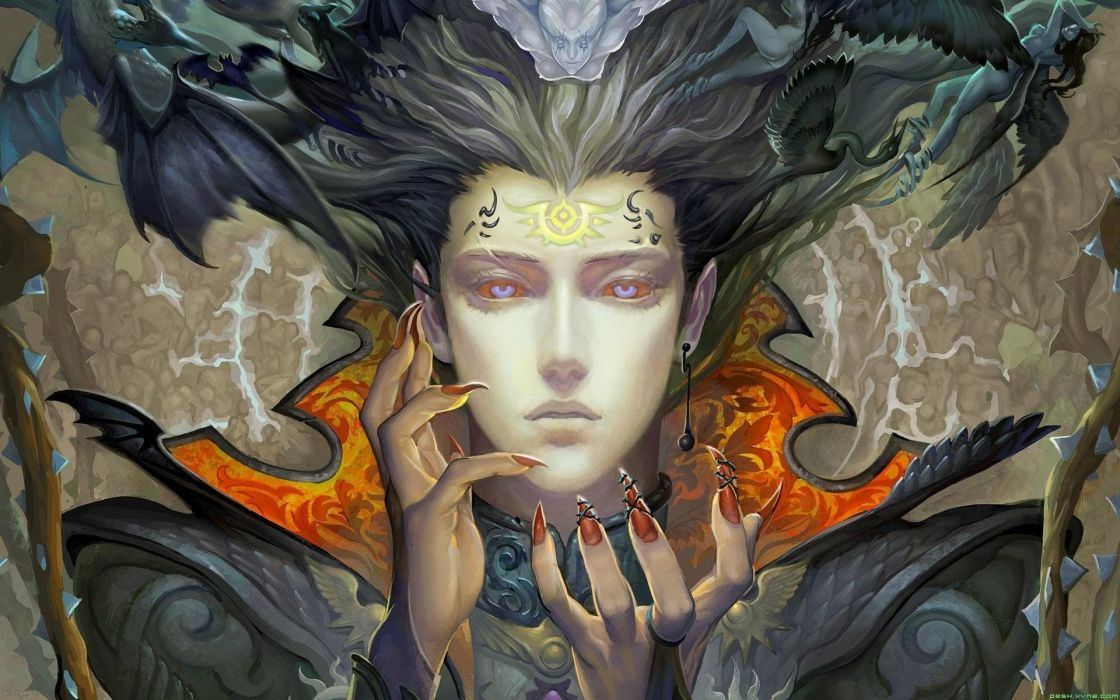wings fantasy art artwork wallpaper