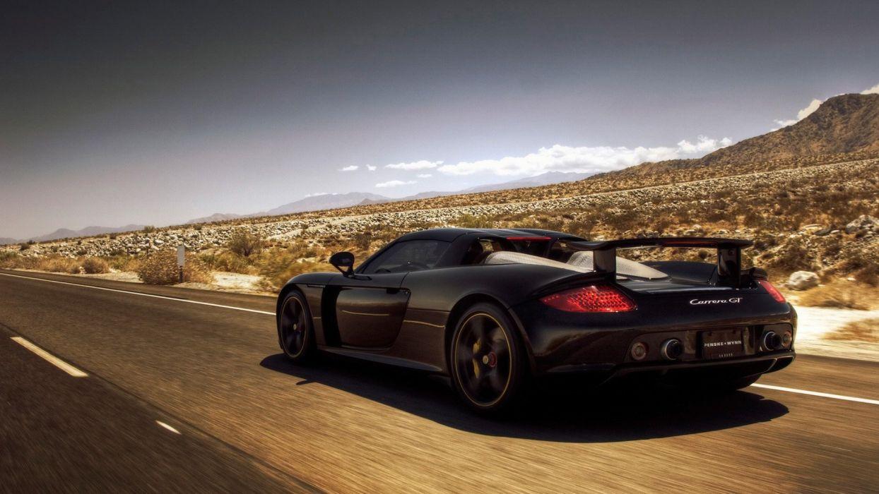 Porsche cars Porsche Carrera GT wallpaper
