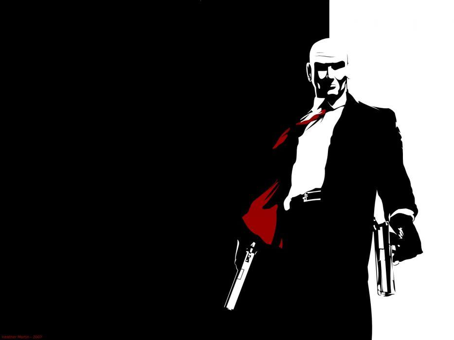 video games guns Hitman Agent 47 wallpaper