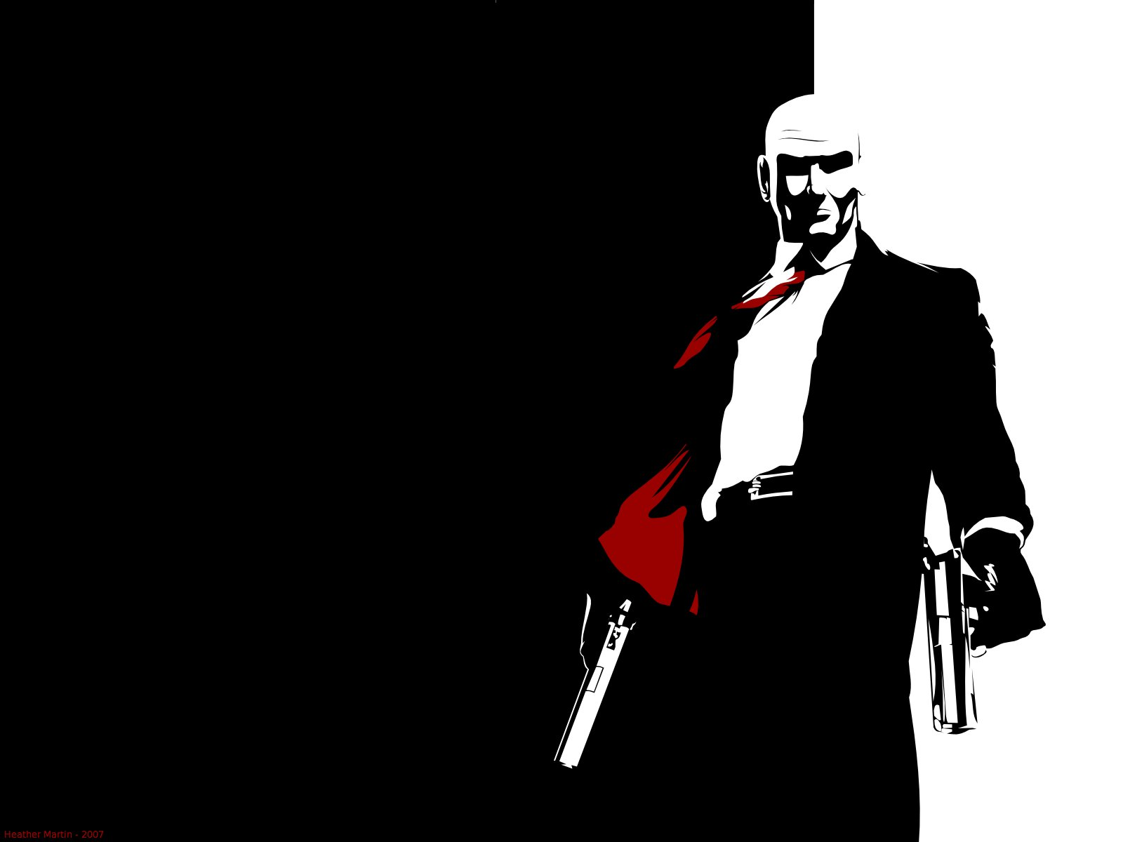 Video Games Guns Hitman Agent 47 Wallpaper 1600x1200 304105