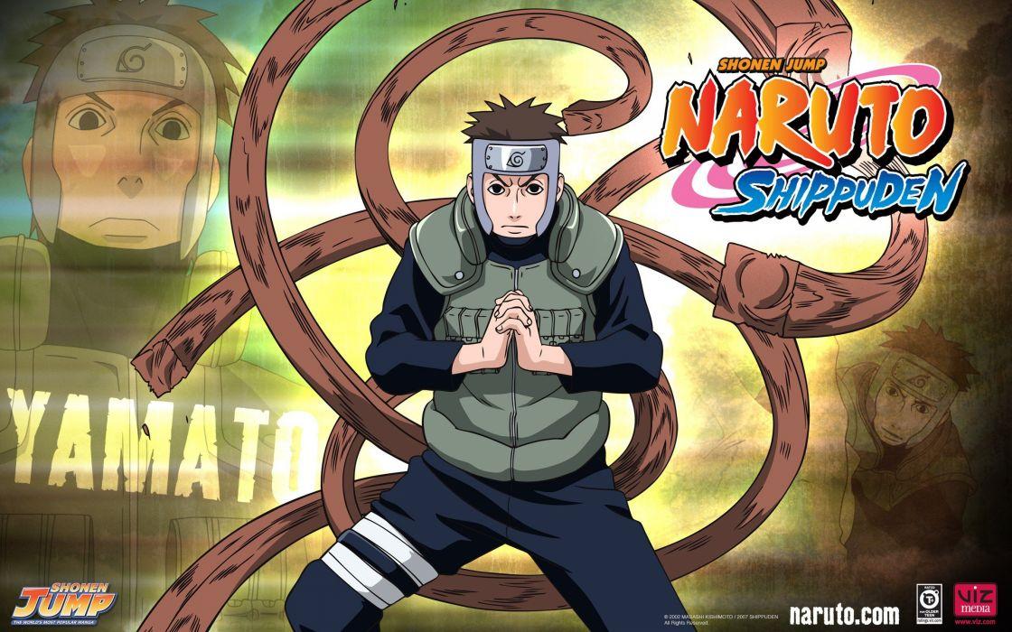 Naruto: Shippuden Yamato mokuton wallpaper