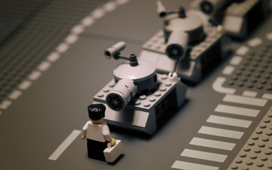 tanks Tiananmen Square Legos wallpaper