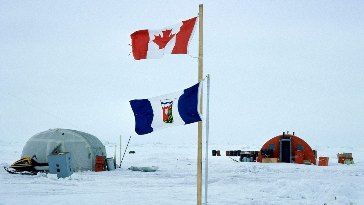 north Canada flags Canadian flag pole wallpaper