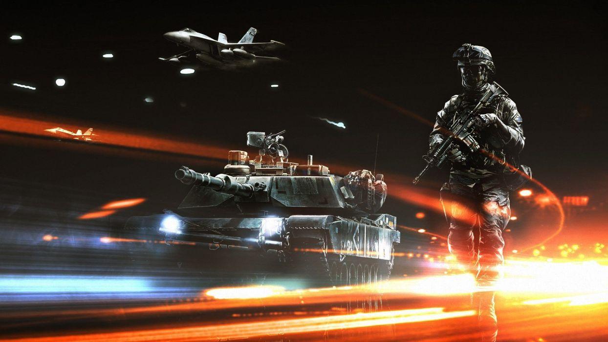 aircraft tanks Battlefield 3 wallpaper
