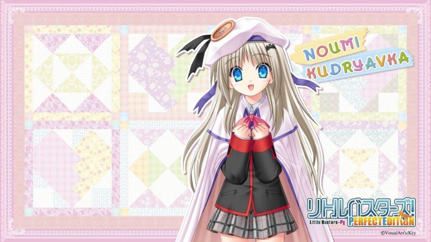 little visual novels seifuku Little Busters! Noumi Kudryavka wallpaper