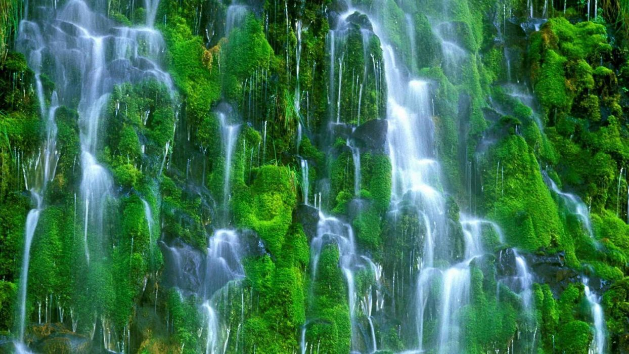 falls California waterfalls wallpaper