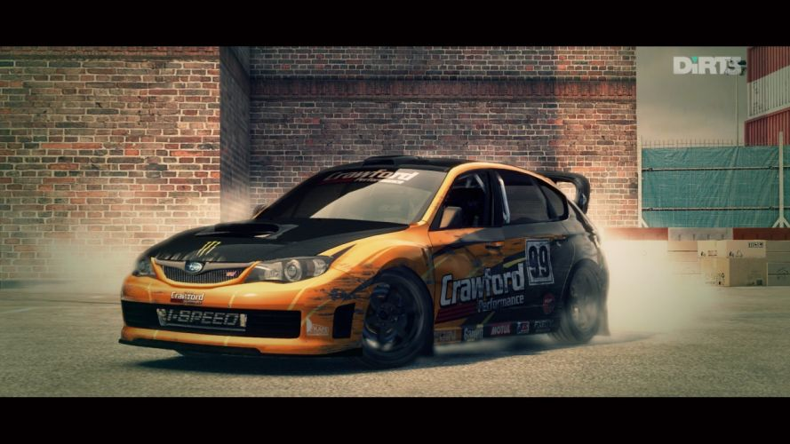 Dirt 3 Dirt video game Subaru Impreza WRX wallpaper