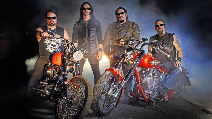 ADRENALINE MOB heavy metal bike chopper g wallpaper