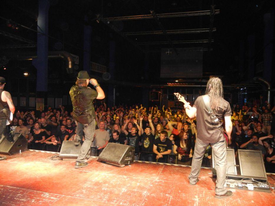 ADRENALINE MOB heavy metal rock concert crowd    g wallpaper