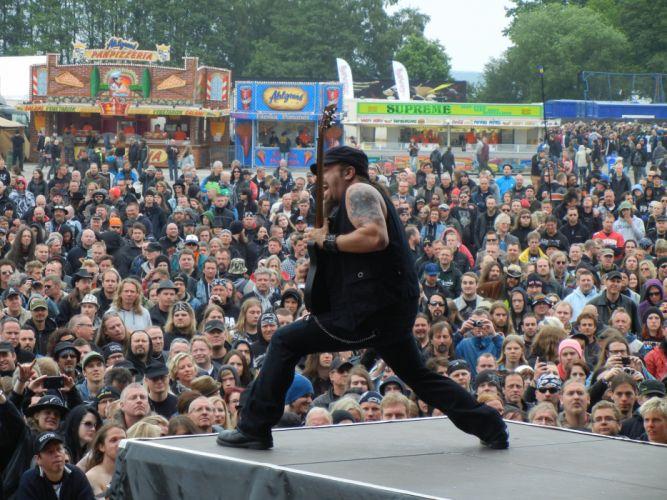 ADRENALINE MOB heavy metal rock concert guitar crowd wallpaper