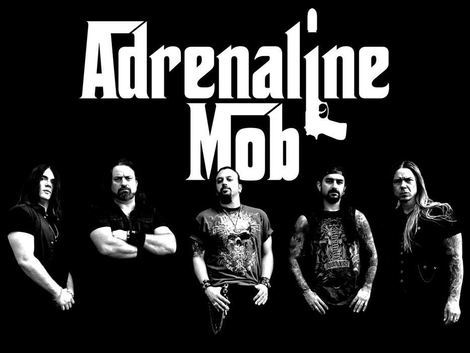 ADRENALINE MOB heavy metal rock poster    g wallpaper