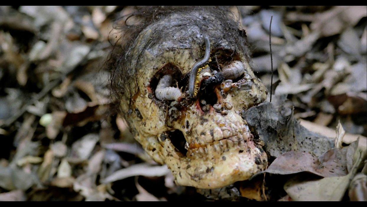 CANNIBAL HOLOCAUST adventure horror dark gore skull      f wallpaper