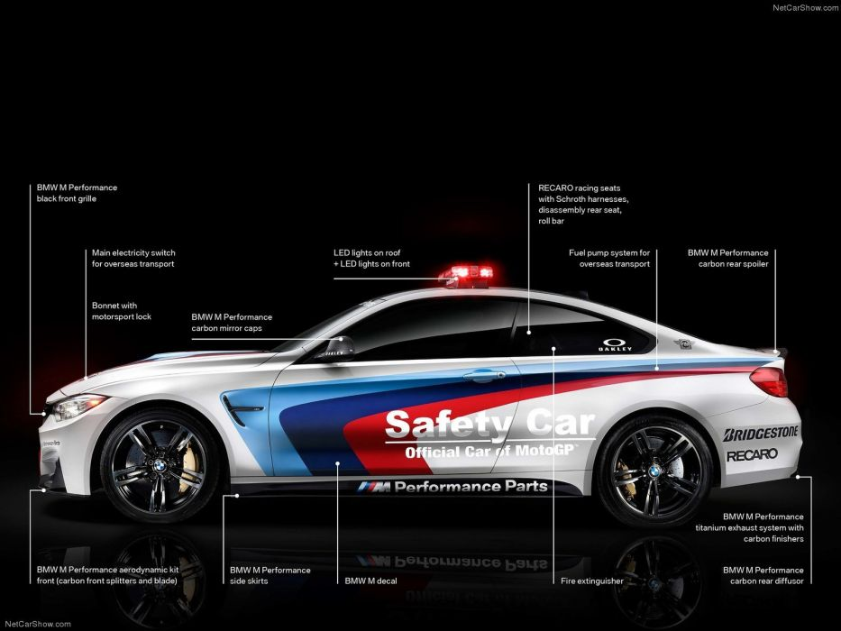 BMW-M4 Coupe MotoGP Safety Car 2014 1600x1200 wallpaper 05 wallpaper
