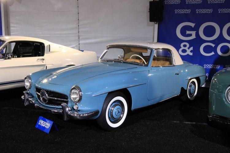 1957 Mercedes-Benz 190 SL wallpaper