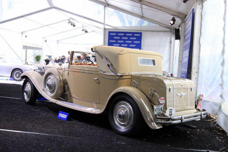 1930 Minerva AL Van Den Plas Three-Position Cabriolet wallpaper