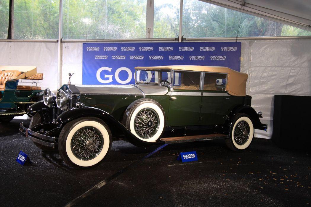 1929 Rolls-Royce Phantom I Brewster & Co_ Newmarket wallpaper