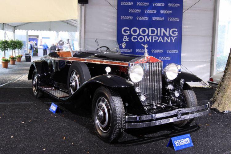 1933 Rolls-Royce Phantom II Henley Roadster wallpaper