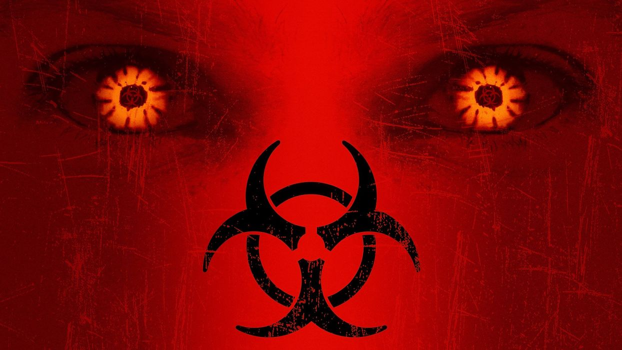 28 DAYS LATER horror sci-fi thriller dark zombie poster wallpaper